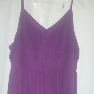 Torrid 4x Purple v neck dress
